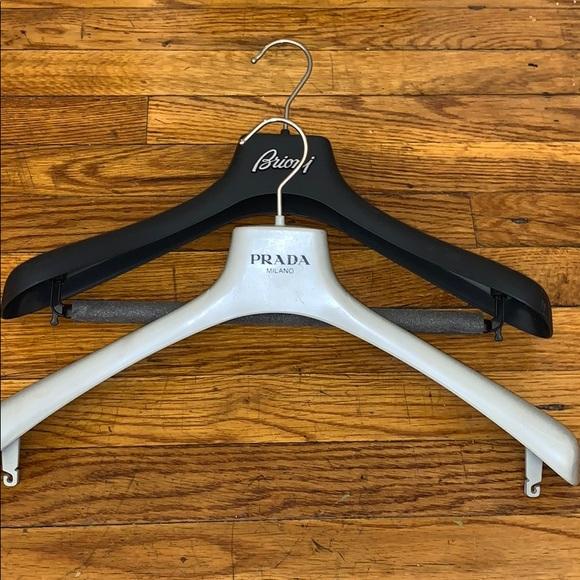 🔥🔥 Brioni & Prada Plastic Hangers